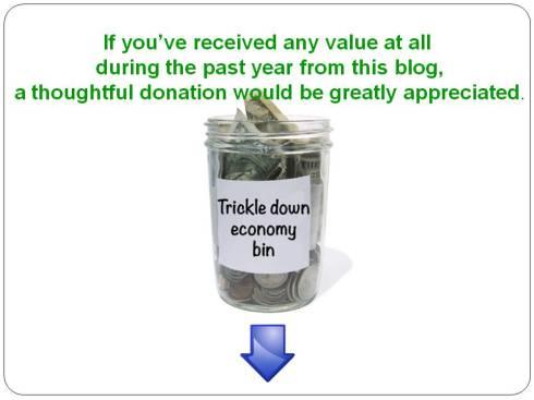 Tipping Jar Trickle Down