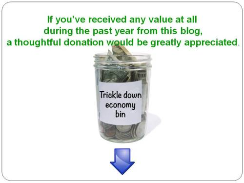 Tipping Jar Trickle Down