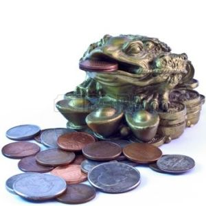 money-frog-surrounded-by-coins-symbol-of-wealth-and-fortune