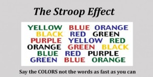 Stroop