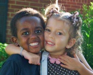 Black White Toddlers