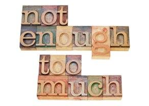 enoughness